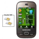 samsung b5722 mobile double sim