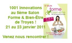 1001 Innovations au salon forme et bien-être de Troyes