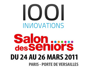 1001innovations au salon des Seniors 2011