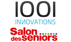 1001 Innovations est au Salon des Seniors 2011 à Paris Porte de Versailles