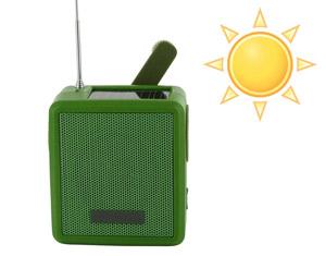 Radio solaire ecologique pour randonnee, pique-nique