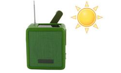 Le coup de coeur de la semaine : la radio compacte à énergie solaire et dynamo
