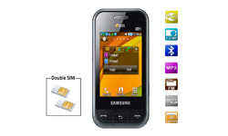 mobile double sim samsung e2652