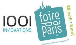 1001innovations à la Foire de Paris 2011 – porte de Versailles