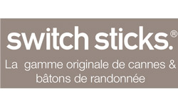 Nouveauté Switch Sticks : les cannes sieges, batons de marche et cannes pliantes Switch Sticks sur 1001 Innovations