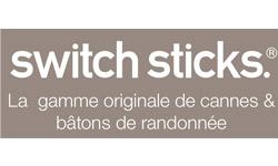 Nouveauté Switch Sticks : les cannes sieges, batons de marche et cannes pliantes Switch Sticks sur 1001 Innovations