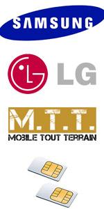 mobiles et telephones portables 2 SIM