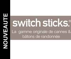 Nouveauté : cannes Switch Sticks