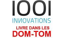 Livraison DOM-TOM : 1001innovations.com livre en Guadeloupe, Martinique, en Guyane, à la Réunion et sur d'autres régions et collectivités outre-mer !