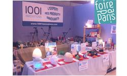 1001innovations à la Foire de Paris 2011, retrouvez les produits innovants de notre stand