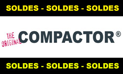 Soldes Compactor : les sacs et housses sous vide Compactor en promo pour les soldes été 2011