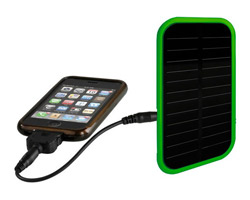 chargeur solaire compatible iphone blackberry samsung htc nokia sony-ericsson