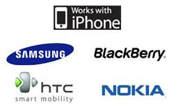 Découvrez les nouveaux chargeurs solaires et USB pour Iphone, Blackberry, Samsung, HTC, Nokia, Sony-Ericsson