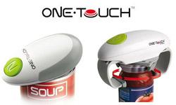 Nouveau : OneTouch pour ouvrir facilement et automatiquement les boites de conserve, bocaux, bouteilles…