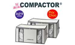 Compactor pas cher – promotions et réductions exclusives chez 1001innovations.com sur les rangements sous vide Compactor