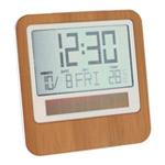 horloge reveil lexon à energie solaire