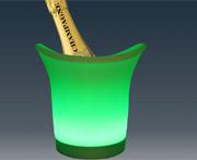 seau à glacons LED pour bouteilles de champagne