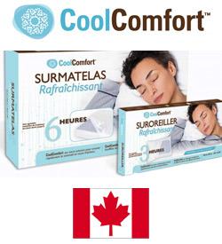Cool Comfort pour refroidir le matelas