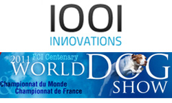1001innovations au World Dog Show 2011 – Salon International du Chien, Parc des Expositions Paris-Nord Villepinte