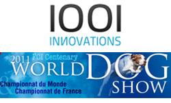 1001innovations au World Dog Show 2011 – Salon International du Chien, Parc des Expositions Paris-Nord Villepinte