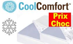 Promo Cool Comfort : soldes de surmatelas et oreillers frais Cool Comfort pour dormir au frais l'été