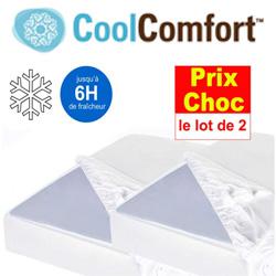 Promo et soldes cool confort surmatelas frais et suroreiller rafraichissant - Sur matelas rafraichissant ...