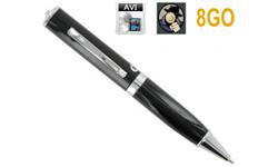 Nouveauté espionnage – le stylo caméra espion 8 Go vidéo et audio sur 1001innovations.com