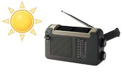 Nouveautés radios solaires écologiques – 2 nouvelles radios à panneau solaire et dynamo