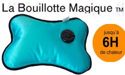 Découvrez Bouillotte Magique : les bouillottes électriques Bouillotte Magique pour se rechauffer en 15 minutes et soulager les douleurs