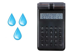 calculatrice à eau