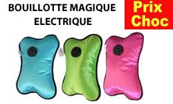 Promo Bouillotte Magique: réductions et promotions sur les bouillottes magiques électriques sur 1001innovations.com