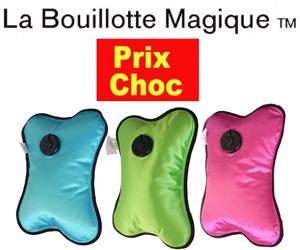 promotion bouillotte magique