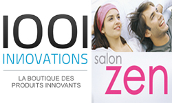 1001innovations au Salon Zen : un vrai succès !