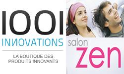1001innovations au Salon Zen : un vrai succès !