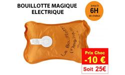 Bouillotte Magique: promo et réduction sur la bouillotte électrique Bouillotte Magique pour se réchauffer l'hiver – stocks limités