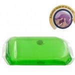 Chaufferette réutilisable Bouillotte Magique moyen modèle - Verte