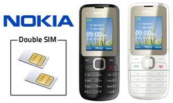 Nouveau télephone double SIM Nokia : le portable Nokia C2-00 dual SIM pour gérer 2 abonnements simultanément