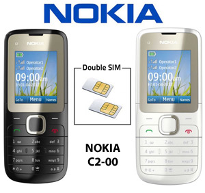 telephone portable double sim c2