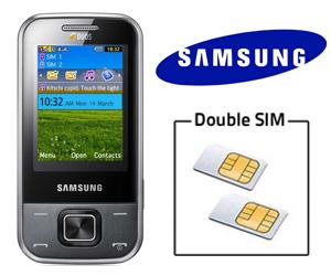 double SIM Samsung C3752 avec slider