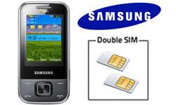 Nouveau mobile double SIM Samsung : le Samsung C3752 quadribande, dual sim avec slider