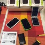Chargeurs solaire universels pour téléphones portables