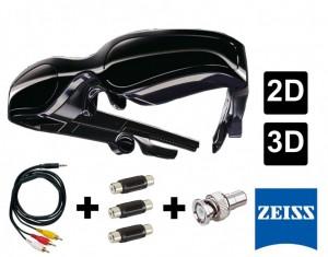 Lunettes vidéo 2D 3D ZEISS Cinemizer
