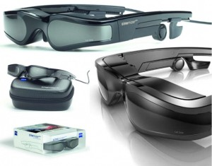 Lunettes video 2D 3D zeiss