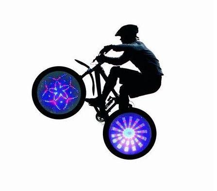 Des accessoires de vélo LED design