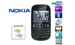 Asha 200 : le dernier cri des téléphones Nokia double SIM