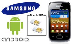 Nouveau sur 1001 Innovations, le premier mobile dual SIM Android : Samsung Galaxy S6102