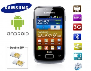 Smartphone double SIM Android Samsung Galaxy S6102