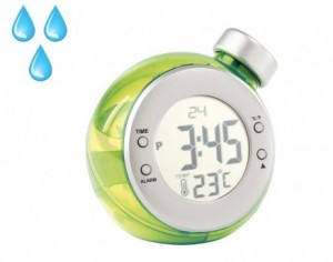 Réveil et thermomètre à eau