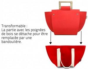 sac à main écolo et design