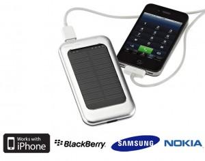 Chargeur solaire pour téléphones mobiles